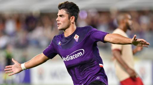 Arriva a Cagliari, l'ex Fiorentina, Riccardo Sottil