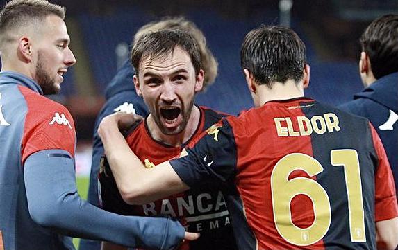 Genoa-Verona 2-2 (Profilo social Genoa CFC)