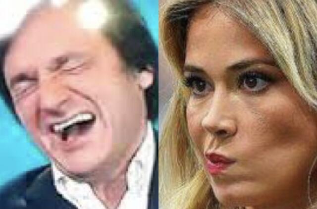 Diletta Leotta e Fabio Caressa - DAZN e Sky Sport