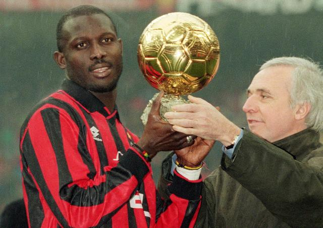 George Weah (ph social)