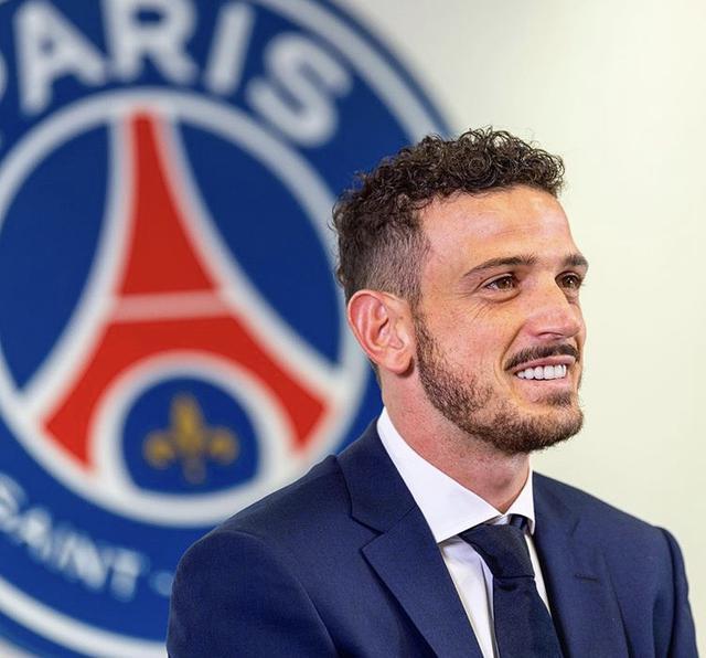 Alessandro Florenzi, nuovo giocatore del PSG (Profilo social club parigino)