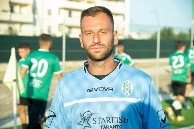 Luca Miccoli, portiere del Talsano Taranto