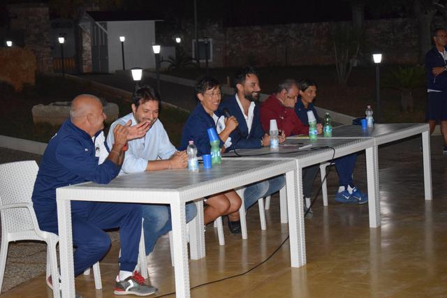 Un momento della presentazione dell'affiliazione al Torino FC Academy (settembre 2019)
