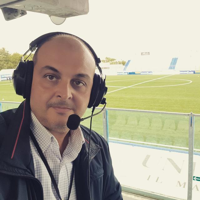 Alfredo Ghionna, telecronista Eleven Sports