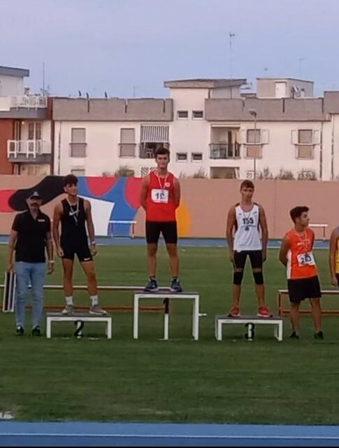 Alessandro Erbetta sul podio più alto