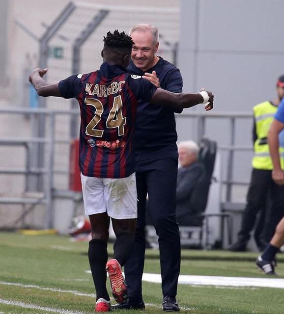 Mister Alvini è pronto a riabbracciare Kargbo