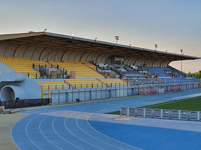 L'impianto di Lignano Sabbiadoro ospita le gare del Pordenone nella stagione 2020/21