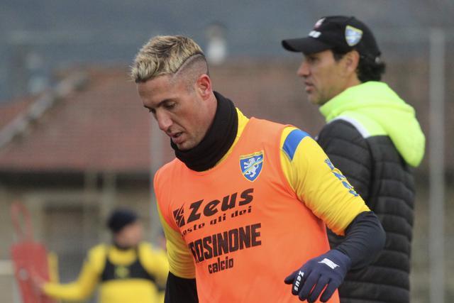 Ardemagni, una sola rete nella scorsa stagione in maglia gialloblù  © Frosinone Calcio