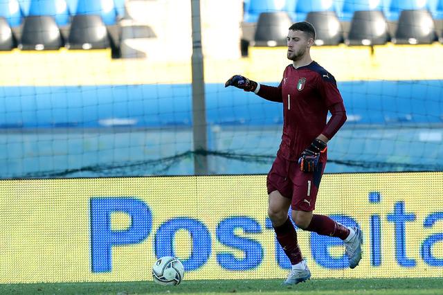 Cerofolini in azione con la maglia della Nazionale © FIGC