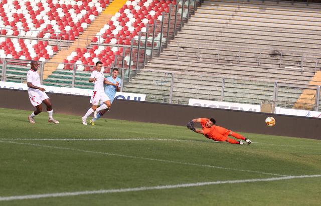 Il gol di Mazzocchi nel primo tempo