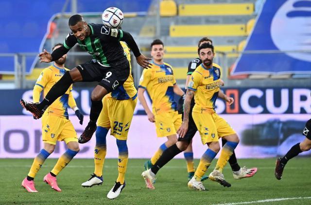 Diaw in azione contro il Frosinone © Pordenone Calcio