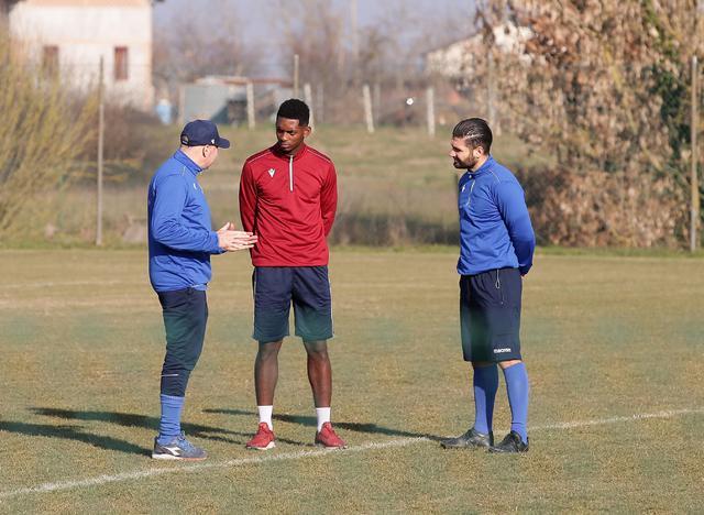 Valencia a colloquio con mister Alvini e il vice Montagnolo