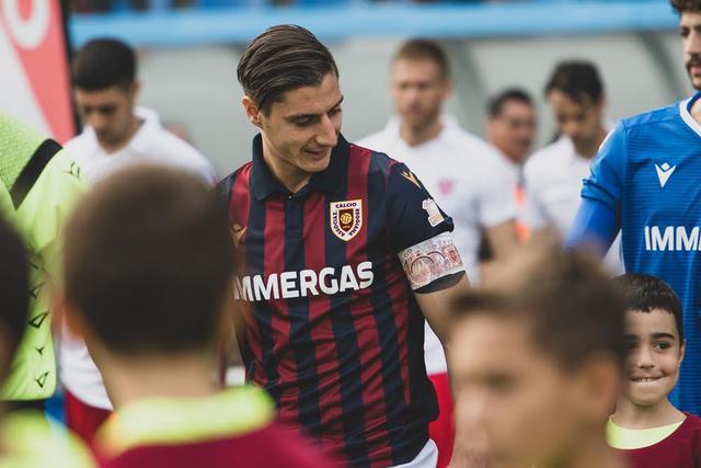 Reggiana, clamoroso Spanò: lascia il calcio per dedicarsi allo studio