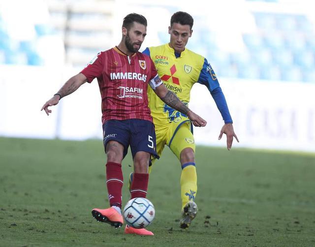 Fausto Rossi in azione contro il Chievo © AC Reggiana