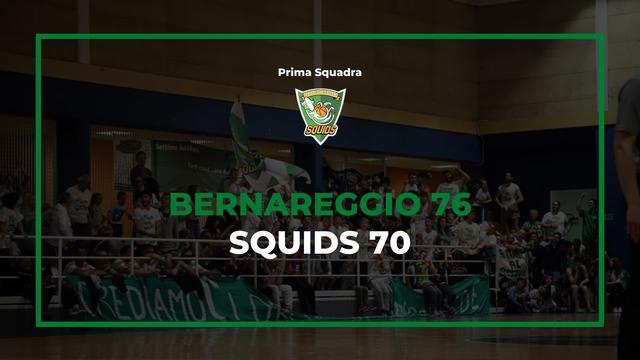 Bernareggio vs Squids Settimo basket, risultato