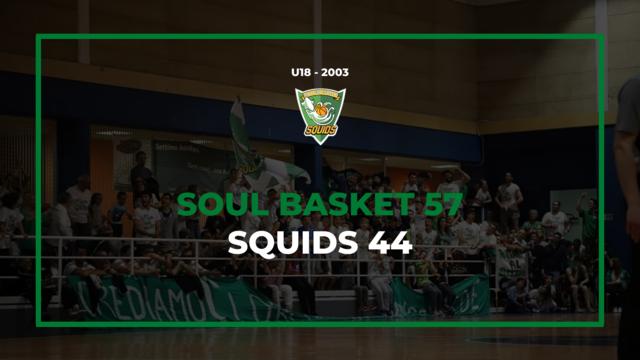 soul basket vs settimo basket under18