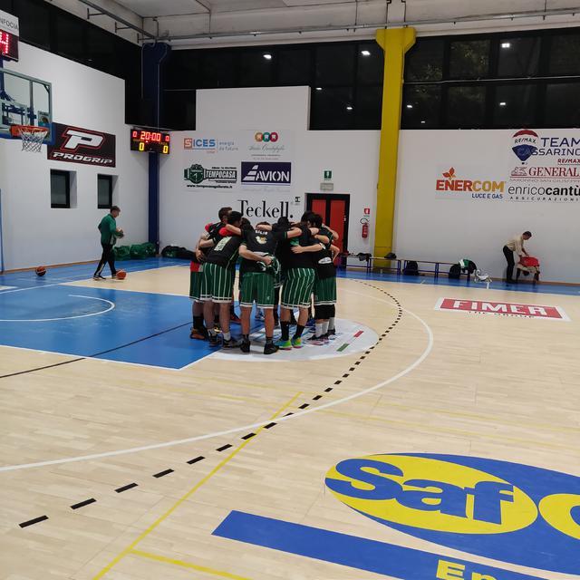 Settimo Basket sul campo di Casorate Sempione