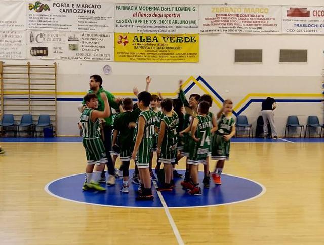 aquilotti 2009 settimo basket