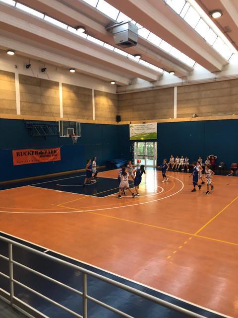 Esordio casalingo stagionale per le ragazze del settimo basket