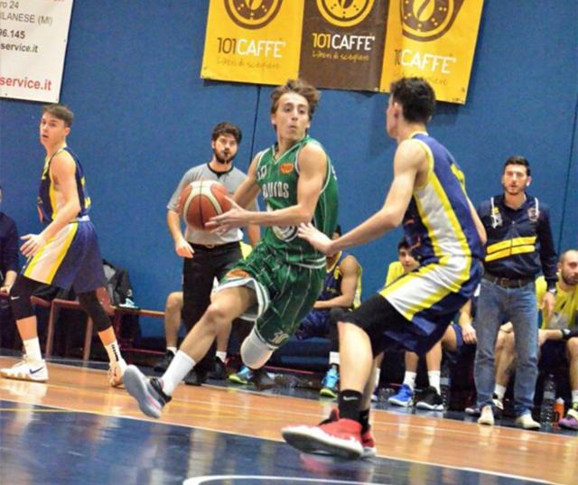 Davide Caselli Settimo Basket