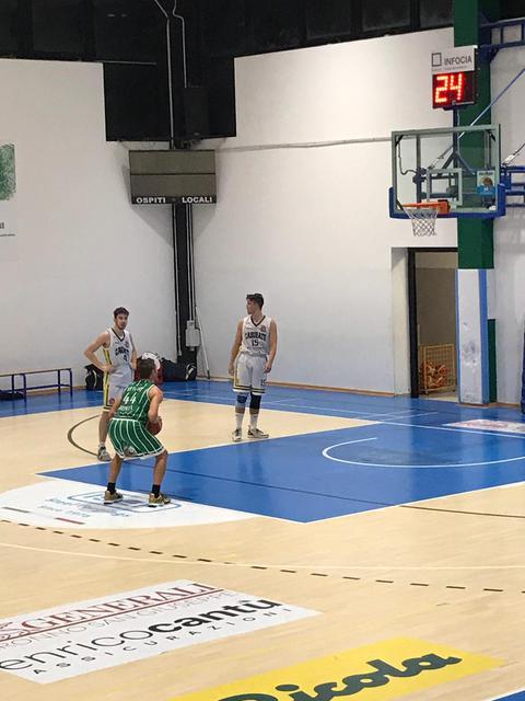 Federico Rondena in lunetta per Settimo Basket