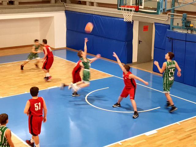 u13 settimo basket