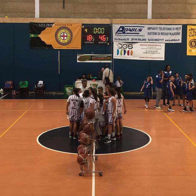Settimo Basket under13 femminile