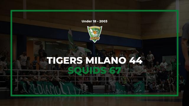 Under18 2003 esordio vincente a Milano