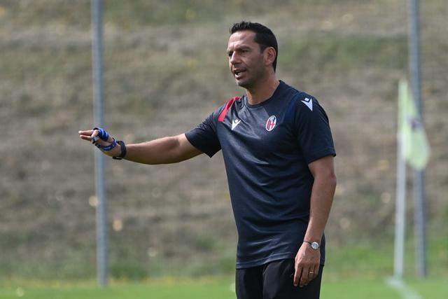 Luciano Zauri, tecnico della Primavera del Bologna (Foto: Bologna FC)