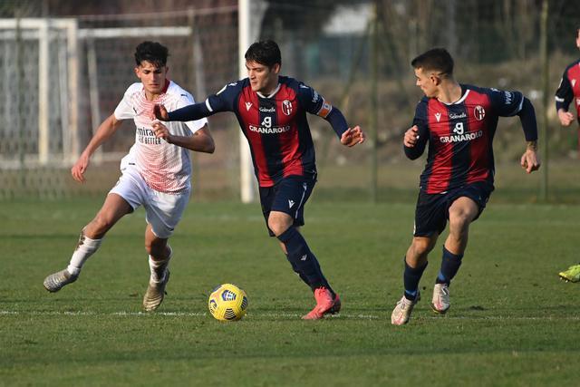 Simone Rabbi, autore di due gol quest'oggi (Foto: Bologna FC)
