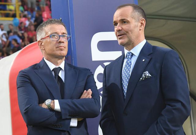 Joey Saputo e Claudio Fenucci (ph. bolognafc.it)