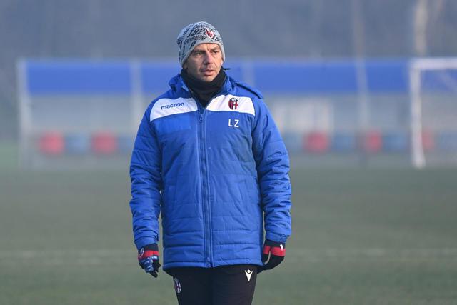Luciano Zauri, tecnico dei rossoblù (Foto: Bologna FC)