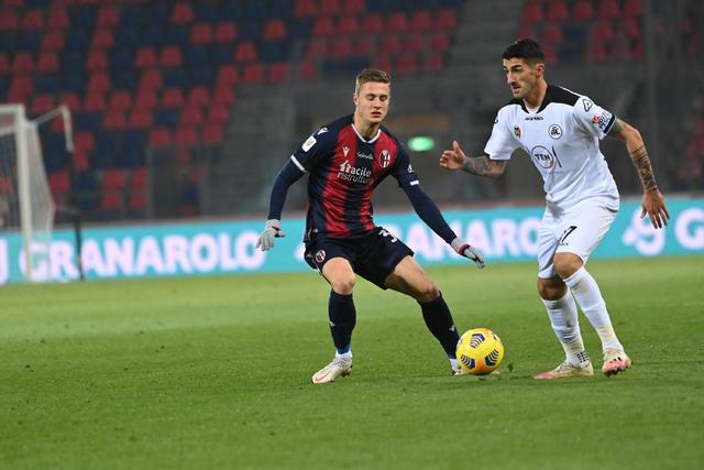 Mattias Svanberg (ph. Twitter Bologna Fc)