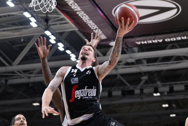 Josh Adams (Foto Virtus Segafredo Bologna)