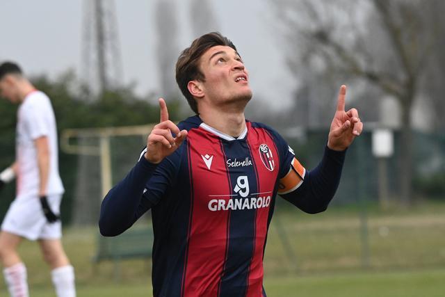 Simone Rabbi, oggi autore di una doppietta (Foto: Bologna FC)