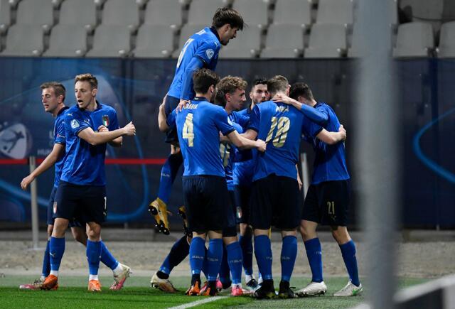 L'Italia U21 batte la Slovenia e si qualifica per la fase a eliminazione diretta dell'Europeo (Foto: Uefa)