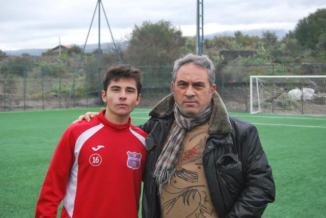 Micheal Tallevi insieme al Direttore Generale Franco Pannitteri