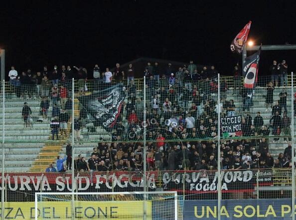 Fidelis Andria-Foggia streaming (ph. Twitter)