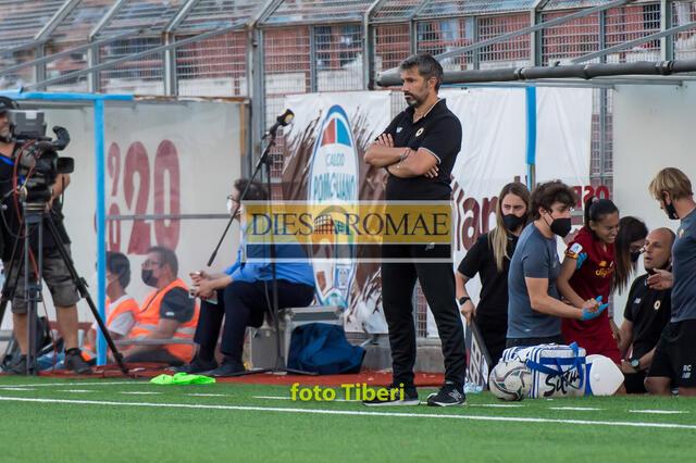 Alessandro Spugna, allenatore dell'AS Roma Femminile