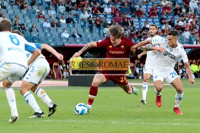 Nicolò Zaniolo in azione (photo Bertea)