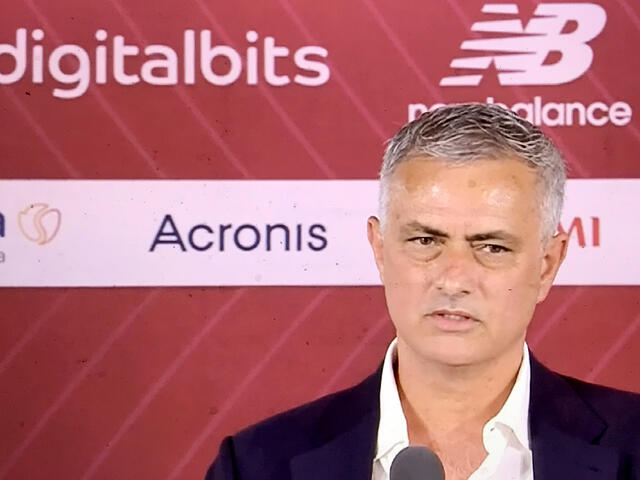 Josè Mourinho, allenatore AS.Roma